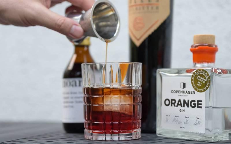 "Gin Cocktail ""Negroconi"""