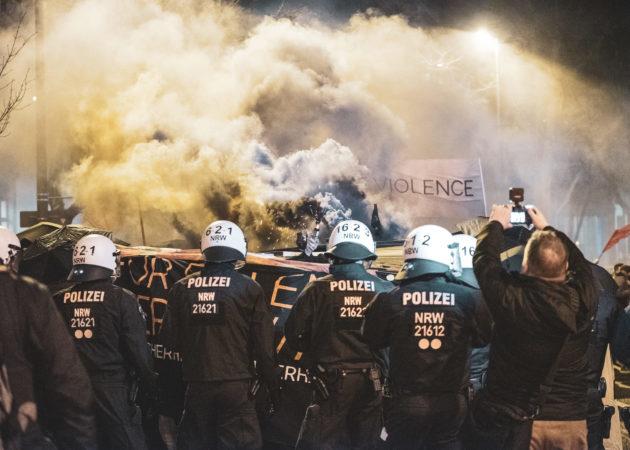 Protest – Sicherheitskonferenz München 2020