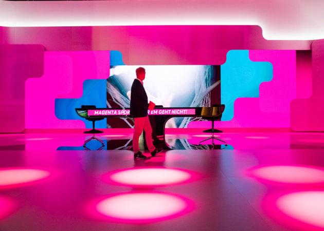 Eröffnung des EM Studios von magenta TV